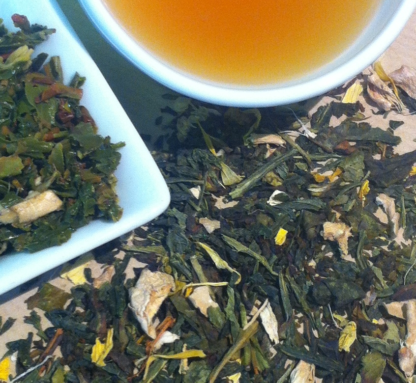 ginger-green-tea